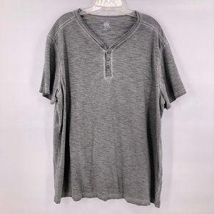 Like New Rock & Republic grey heather v neck shirt